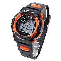 Часы мужские наручные S- SPORT orange