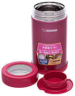 Пищевой термоконтейнер ZOJIRUSHI SW-FCE75PJ 0.75 л ц:малиновый