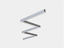 Модульні світлодіодні світильники LINEA KIT RECTANGLE  підвісні лінійні