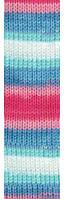Пряжа для вязания Бургум Беби батик 2162