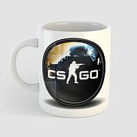Кружка с принтом CS:GO. Counter-Strike. Чашка с фото, фото 1