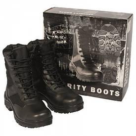 Ботинки тактические Mil-Tec Security Boots Thinsulate черные