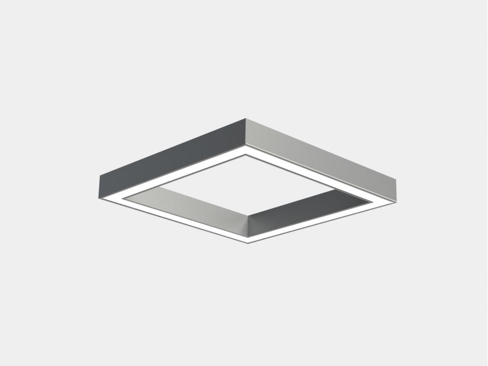 Офісний світлодіодний світильник квадрат LINEA QUAD
