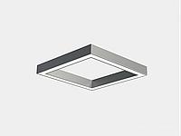 Офісний світлодіодний світильник квадрат LINEA QUAD, фото 1
