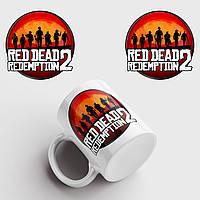 Чашка з принтом Red Dead Redemption 2, фото 1