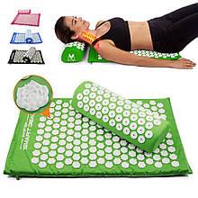 Акупунктурная подушка-коврик для снятия стресса напряжения Acupressure Mat