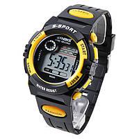 Часы мужские наручные S- SPORT yellow