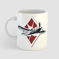 Кружка с принтом World of Warplanes. Чашка с фото, фото 1