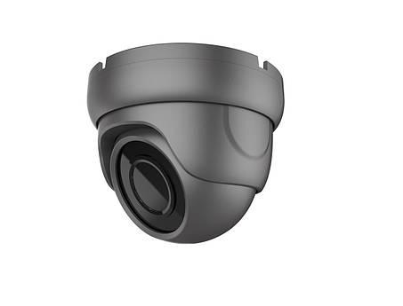 MHD видеокамера 5 Мп уличная/внутренняя SEVEN MH-7615M black (3,6), фото 2