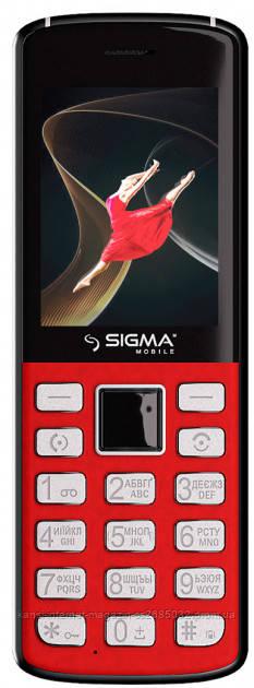 Мобильный телефон Sigma mobile X-style 24 ONYX Red
