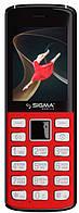 Мобільний телефон Sigma mobile X-style 24 ONYX Red