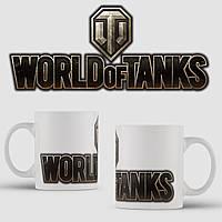 Кружка с принтом World of Tanks. Танки. Танк. Чашка с фото, фото 1
