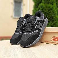 Мужские кроссовки New Balance 997 Рефлективные (черные) 10189