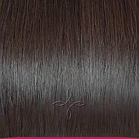 Натуральные Славянские Волосы на Трессе 45-50 см 100 грамм, Шоколад №02