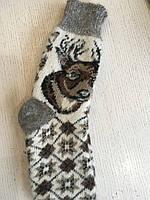 Шкарпетки зимові шерстяні коза дорослі 39-44 розмыр, фото 1