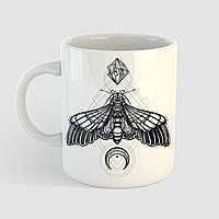 Кружка с принтом Бабочка. Чашка с фото, фото 1