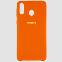 Оригинальный чехол для Samsung Galaxy A40 A405 Orange