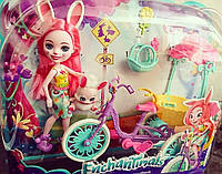 Энчантималс Бри Банни с велосипедом Bree Bunny Doll & Bicycle, фото 1