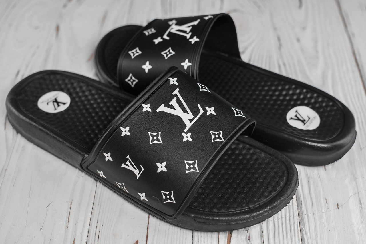 Шлепанцы Louis Vuitton, шлепанцы луи виттон