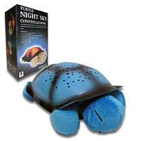 Черепаха ночной светильник Star Guide музыкальная