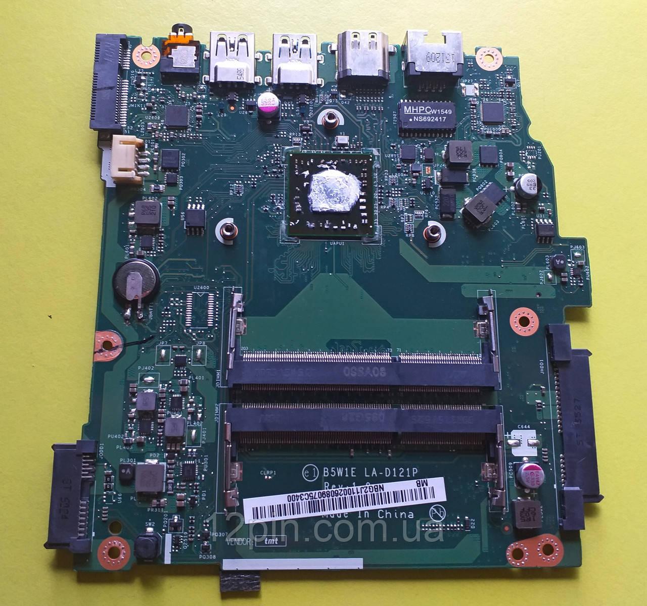 Материнская плата Acer es1-520 б/у оригинал