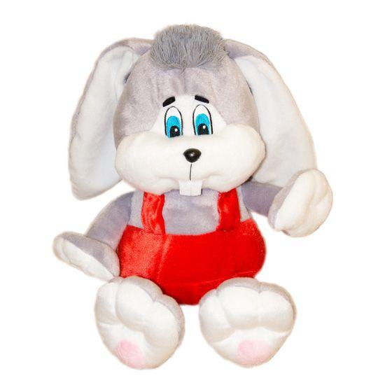 Мягкая игрушка Зайчик в красных штанах 40 см