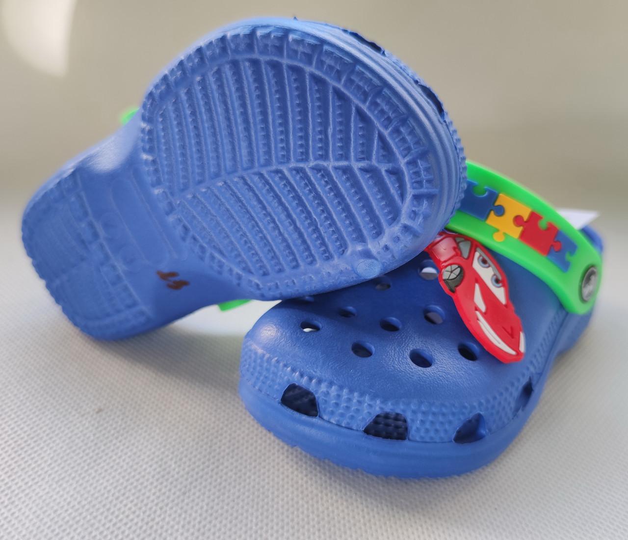 фото Детские кроксы синий Jose Amorales