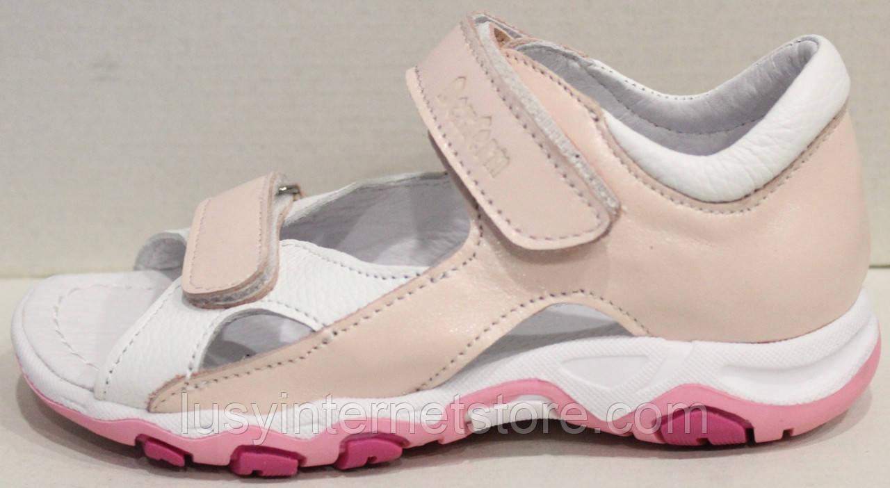 Сандалии розовые для девочки от производителя модель СЛ9-1Р