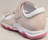 Сандалии розовые для девочки от производителя модель СЛ9-1Р, фото 5