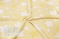Плотный 118х100 см хлопковый байковый флисовый детский плед одеяло для новорожденных малышей детей 4837 Желтый