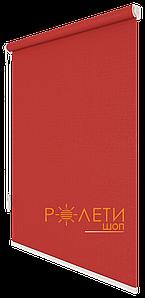 Ролета тканевая Е-Mini Лен 888 Красный