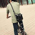 "Велосумка на кермо Rhinowalk ""карбон"", фото 9"