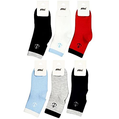 Хлопковые носки для мальчиков 5-6 лет ТМ Arti ...