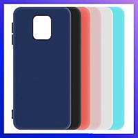 Защитный чехол Xiaomi Redmi Note 9 Pro, матовый, Soft touch, захисний чохол