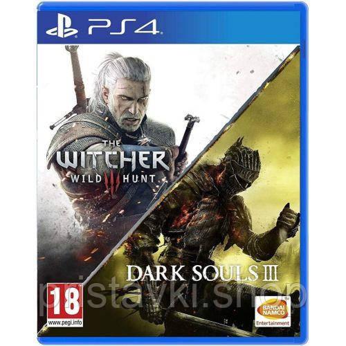The Witcher 3: Wild Hunt + Dark Souls III PS4