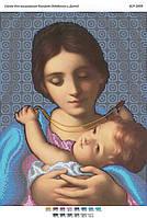 Схема для вышивания бисером ''Мадонна и младенец'' А3 29x42см