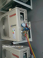 Заправка фреоном R410А кондиционера модели 18-24