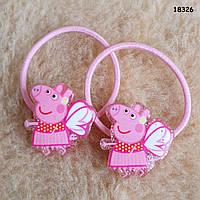 Набор резинок Peppa Pig для девочки, 2 штуки