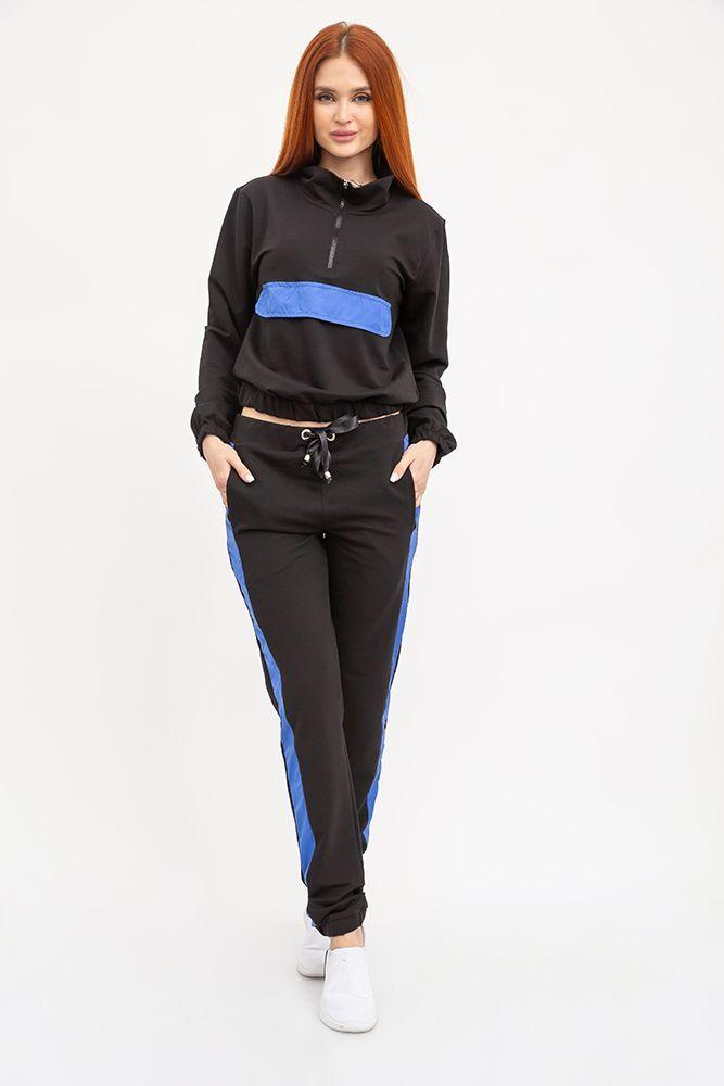 Спорт костюм женский 103R013 цвет Черный 1140750733