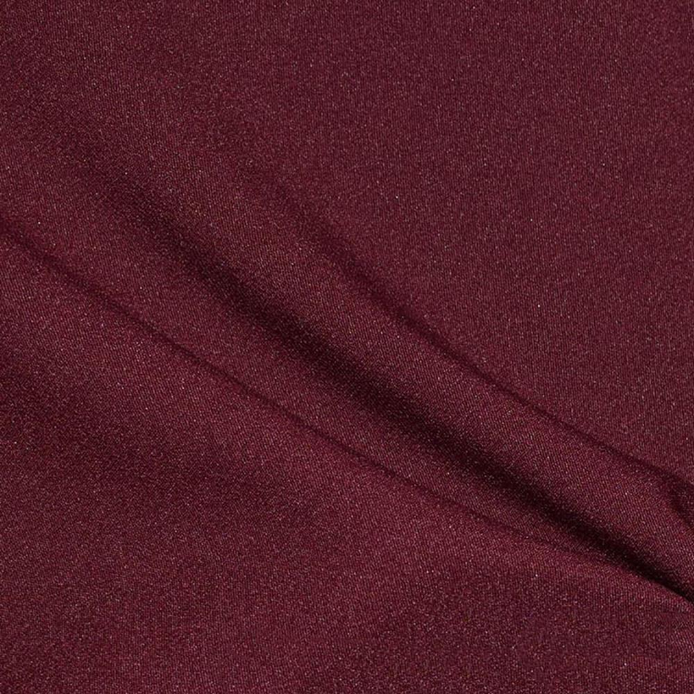 Костюмна тканина, креп-костюмка Флорида, бордовий