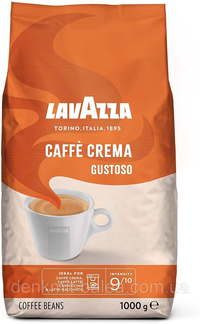 Кофе в зернах Lavazza Caffe Crema Gustoso 1 кг (original)