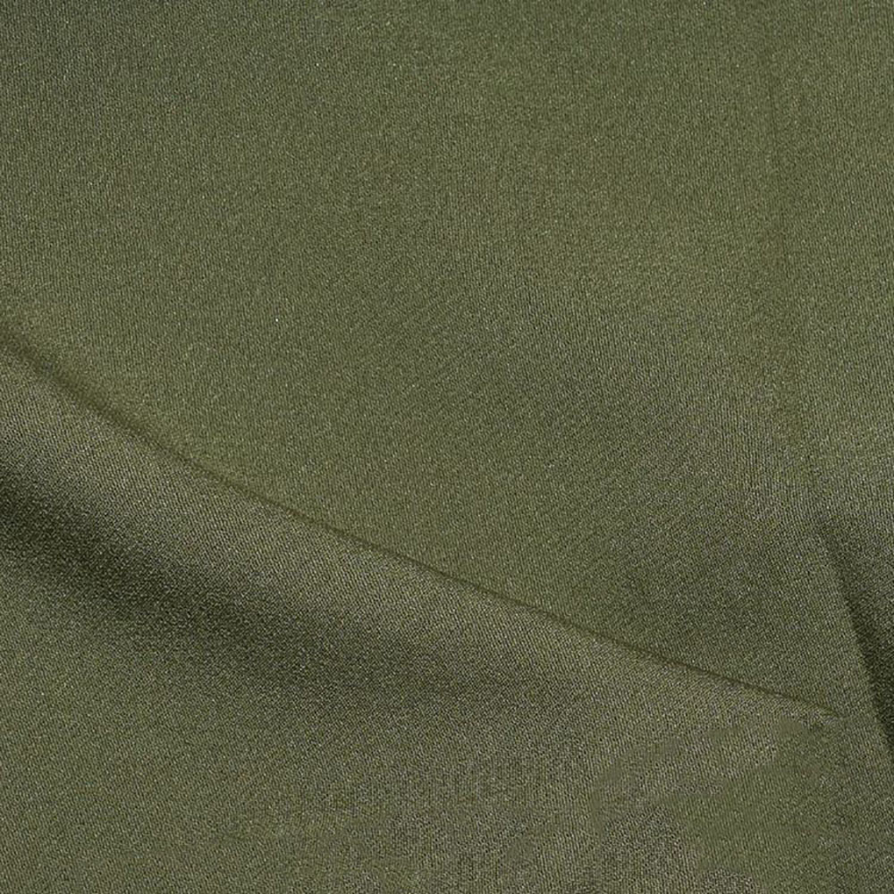 Костюмна тканина, креп-костюмка Флорида, хакі