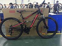 Горный велосипед Crosser Aurora 29 Чёрно Розовый