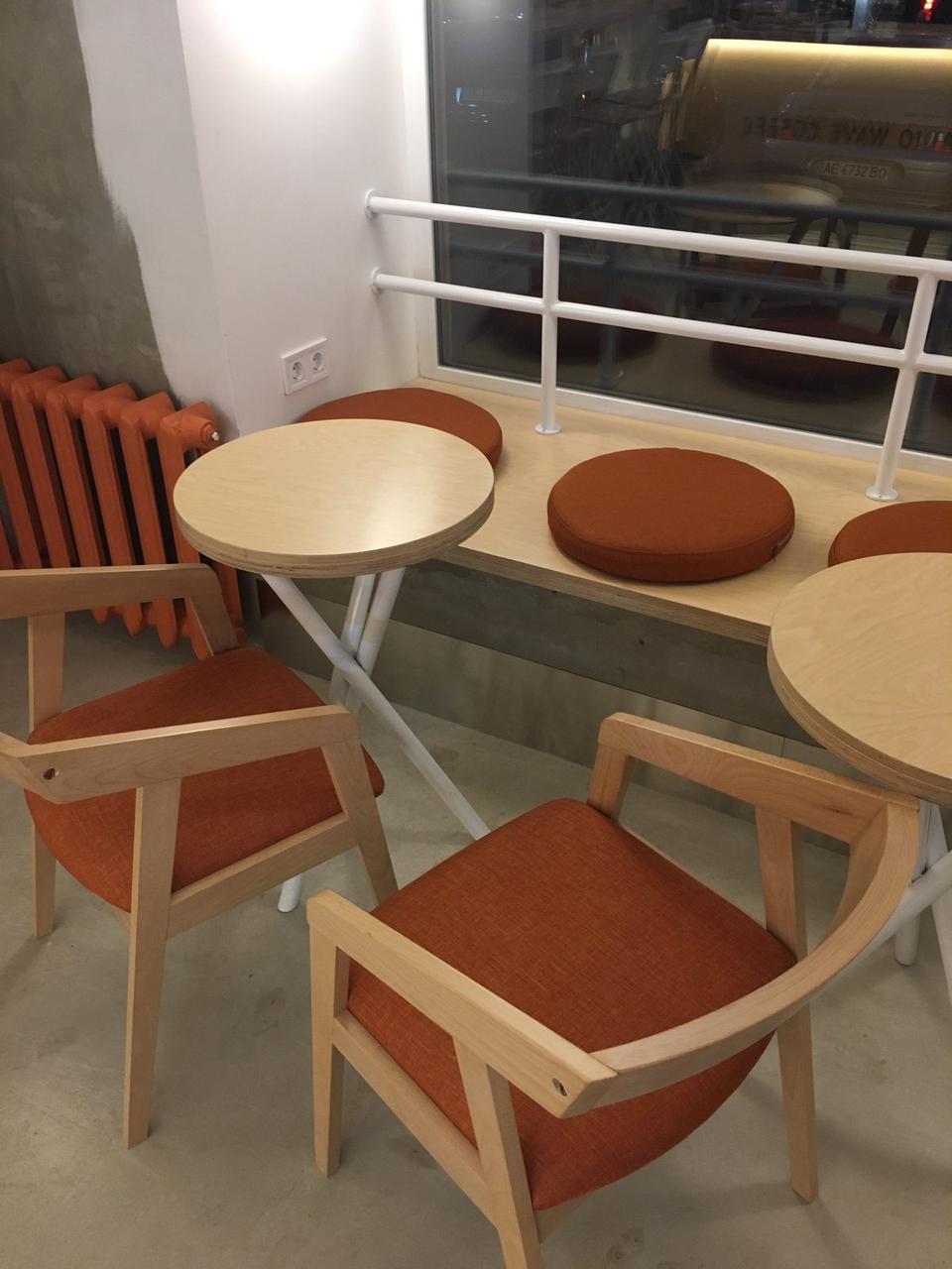 Подушка круглая для мебели
