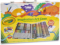 Арт кейс Crayola Inspiration Art Case, 140 Count, Набір для малювання (04-2532) (B00CI6J5JQ)