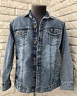 Джинсовая куртка-рубашка на мальчика 8-11 лет, фото 1