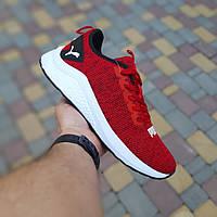 Мужские кроссовки Puma Hybrid (красные) 10181