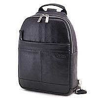 Сумка-рюкзак чоловіча шкіряна Tom Stone 310 B