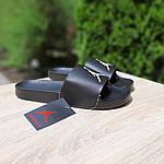 Мужские шлепки на лето Jordan (черно-белые) 40025, фото 9