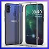 Защитный чехол Samsung Galaxy A11, силиконовый, Transparent, захисний чохол